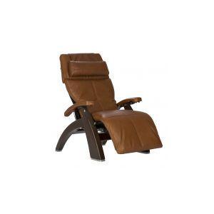 Perfect Chair ® PC-610 Omni-Motion Classic - Dark Walnut - Cognac Premium Leather