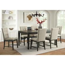 Landry Dining 7-Piece Dining Set: Includes Table and 6 Chairs