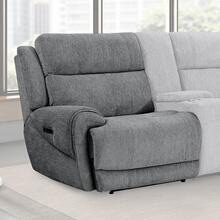 SPENCER - TIDE GRAPHITE Power Left Arm Facing Recliner