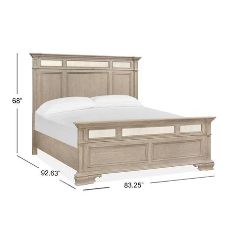 Magnussen Home - Complete Cal King Panel Bed