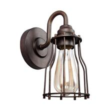 Calgary 1 - Light Sconce Parisian Bronze