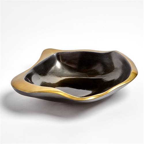 Formation Bowl-Black/Gold-Sm