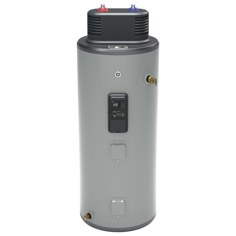 GE® Smart 40 Gallon Electric Water Heater with Flexible Capacity