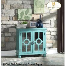 Accent Chest Aqua (Stocked in US)