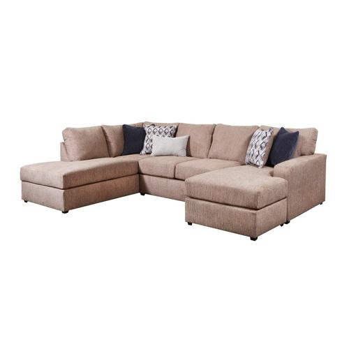 Lane Home Furnishings - 8011 Flamenco Two Piece Sectional with Chaise
