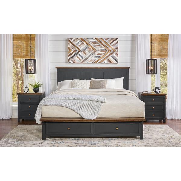 See Details - KING STORAGE BED
