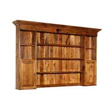 See Details - Two Door Hutch with Wooden Doors