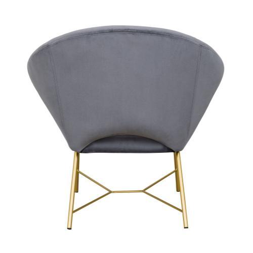 Nolan Grey Velvet Chair
