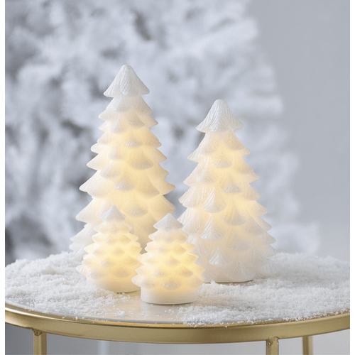 Wax Glitter Trees (2 pc. set)