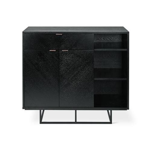 Myles Cabinet Black Oak