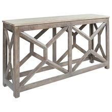 See Details - Lanzburg Sofa/console Table