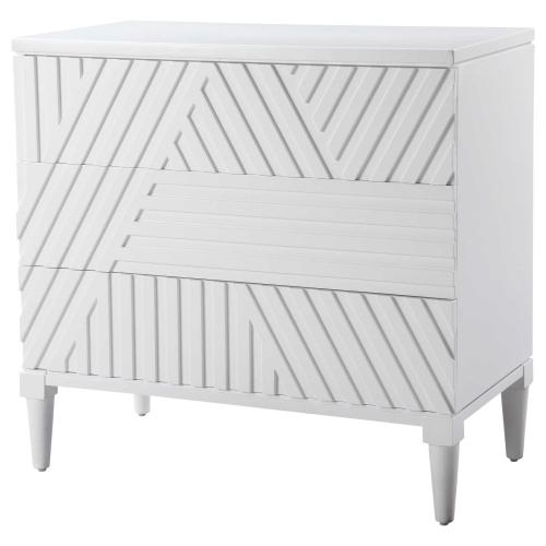 Colby Drawer Chest, White