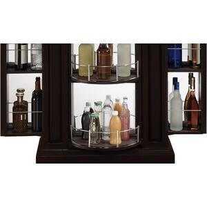 Store all your beverages in style with the handsome Metro liquor cabinet. K...