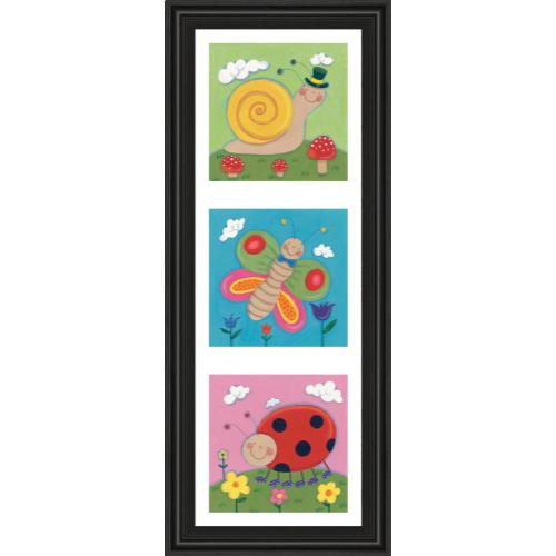 """""""Garden Party I"""" By Sophie Harding Framed Print Wall Art"""