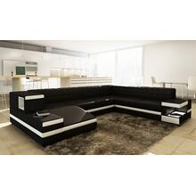 Divani Casa 1201 - Modern Bonded Leather Sectional Sofa
