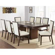 Antonio 9 Piece Set(Table & 8 Side Chairs)