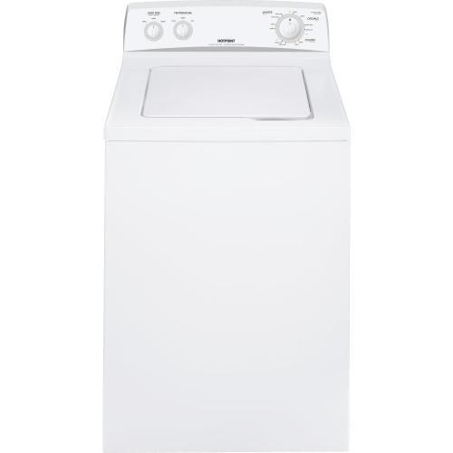 Hotpoint® 3.6 DOE cu. ft. capacity Extra Action ribbed basket washer
