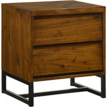 "Reed Wood Nightstand - 22"" W x 17"" D x 24"" H"