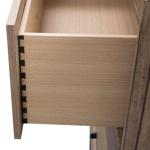 Liberty Furniture Industries - King Uph Bed, Dresser & Mirror