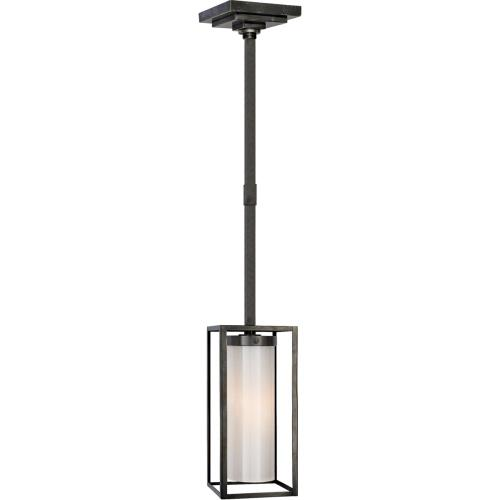 Visual Comfort CHC5055BZ-WG E. F. Chapman Easterly 1 Light 6 inch Bronze Pendant Ceiling Light