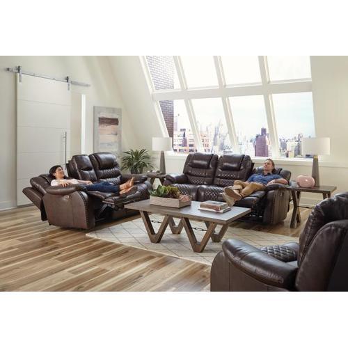 "Power Headrest Power Lay Flat Reclining Sofa (89"")"