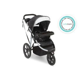 Jeep® Adventure All-Terrain Jogger Stroller - Charcoal Tracks (0251)