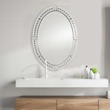 See Details - Graziano Oval Mirror