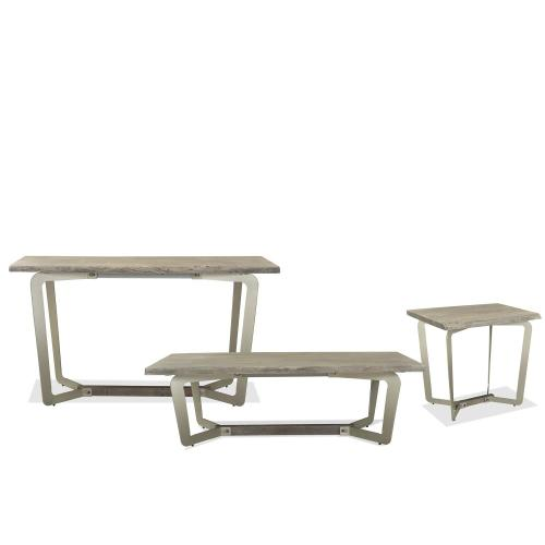 Waverly - Side Table - Sandblasted Gray Finish