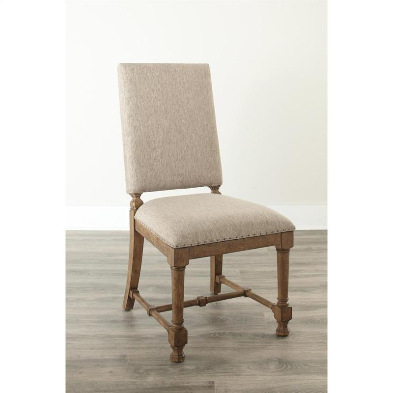 Northridge - Upholstered Side Chair - Butterscotch Finish