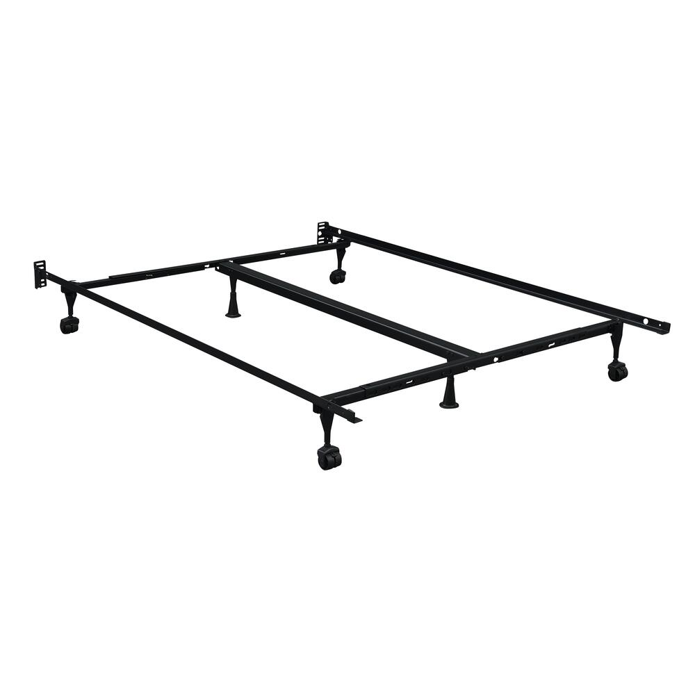 Metal Frame Queen/king Bedframe, Black Fr3566