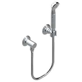 Wall mounted handshower with separate fixed hook
