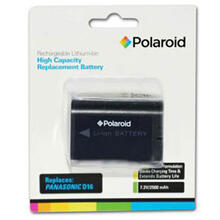 See Details - Polaroid High Capacity Panasonic D16 Rechargeable Lithium Replacement Battery
