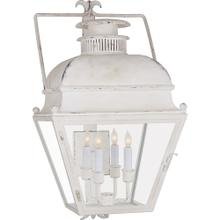Visual Comfort CHO2216OW-CG E. F. Chapman Holborn 4 Light 26 inch Old White Outdoor Wall Lantern, Small