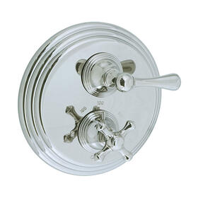 Asbury - Thermostatic Control Valve Trim - Polished Chrome