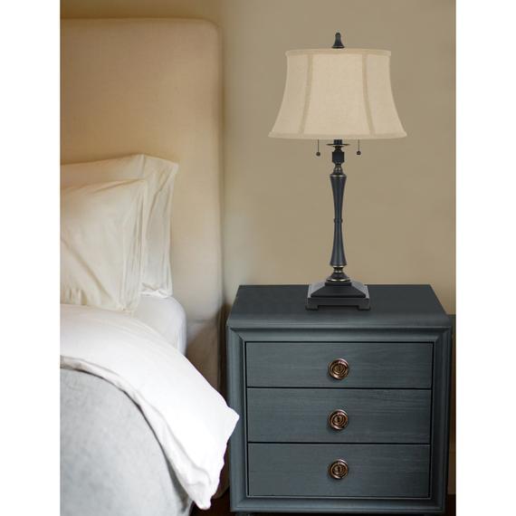 60W X 2 Madison Table Lamp