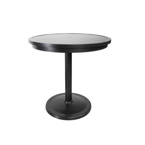 "Monaco 42"" Round Pedestal Bar Table"