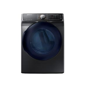 Samsung7.5 cu. ft. Smart Electric Dryer with MultiSteam™ in Black Stainless Steel