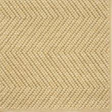 See Details - Wool Sisal Berber Natural 12'x15' / Leather Border