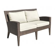 View Product - Oasis Loveseat w/off-white cushions