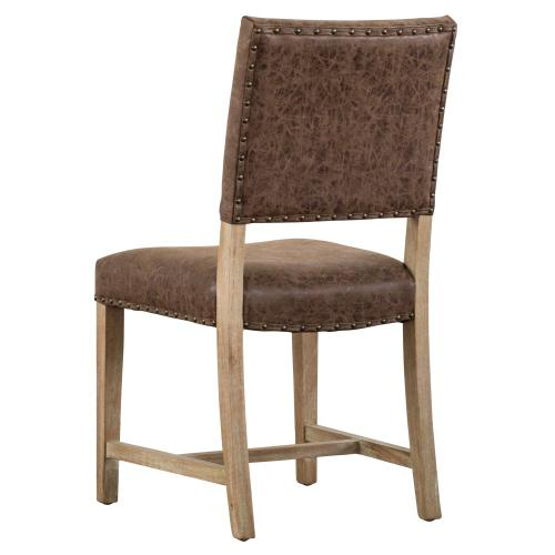 Arthur PU Chair, Nubuck Chocolate