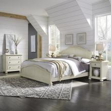 Provence King Bed, Nightstand and Chest