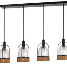 60W X 4 Beacon Island Fixture(Edison Bulbs Not included)