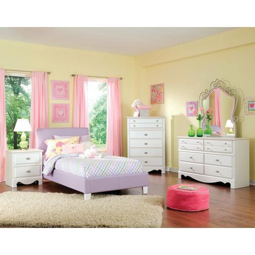 Standard Furniture - Fantasia Full Bed, Lavender