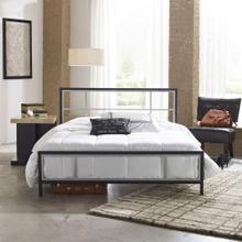 Hanover Mattress Lincoln Square Metal Twin Platform Bed Frame, HBEDLINC-TN