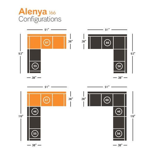 Alenya Right-arm Facing Sofa