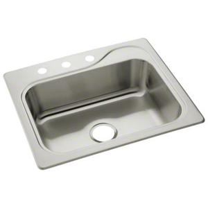 "Southhaven® Single-basin Kitchen Sink, 25"" x 22"" Product Image"