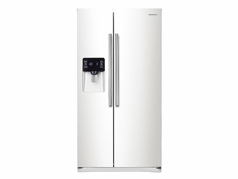 Samsung25 Cu. Ft. Side-By-Side Refrigerator With In-Door Ice Maker In White