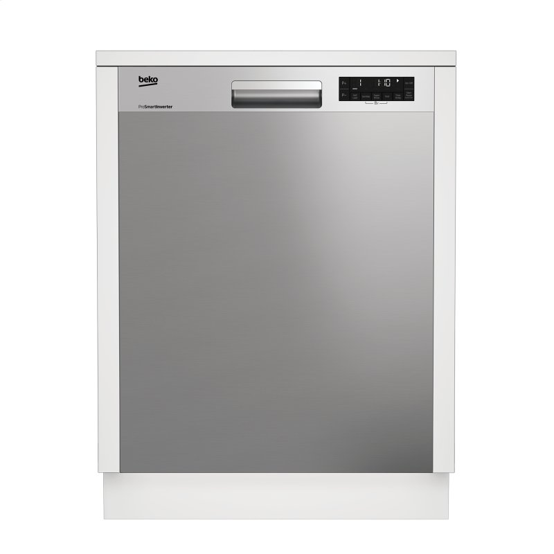 Tall Tub Stainlass Dishwasher, 14 place settings, 48 dBa, Front Control