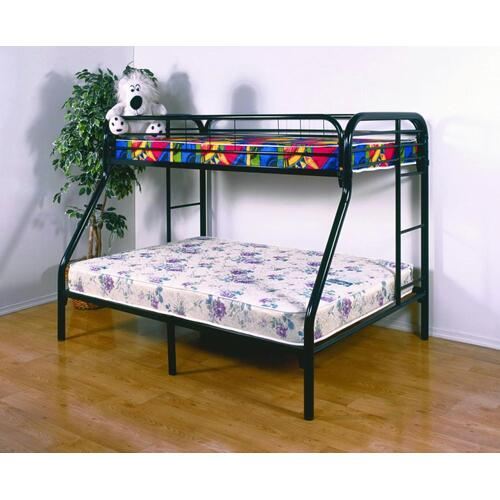 Donco Trading Company - Twin/ Full Metal Bunkbed