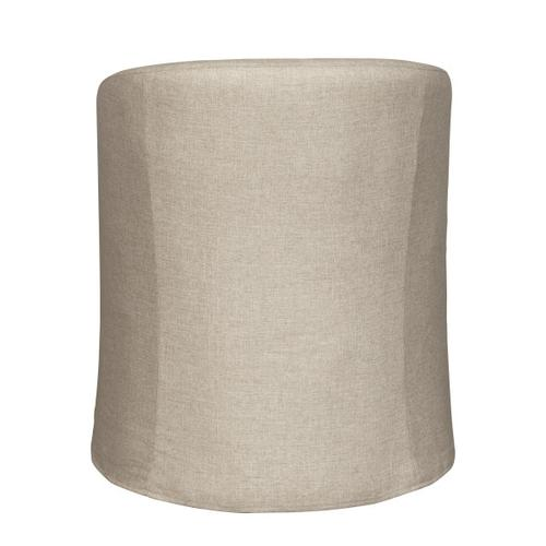 Accentrics Home - Slipcover Barrel Back Chair w/ Casters